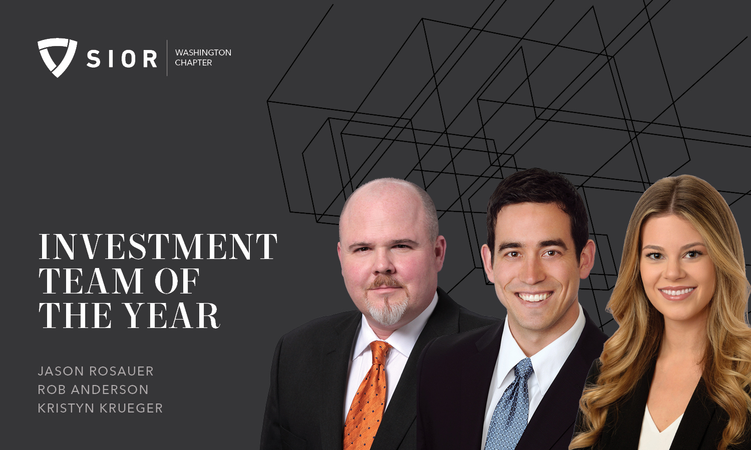 Rosauer Investment Team of the Year SIOR 2019
