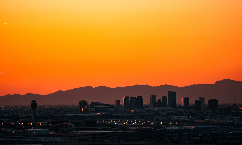 phoenix sunset